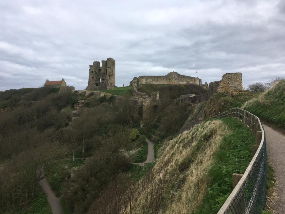 Scarborough Castle from the North
